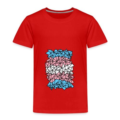 Transgender Crystallized Flag - Toddler Premium T-Shirt