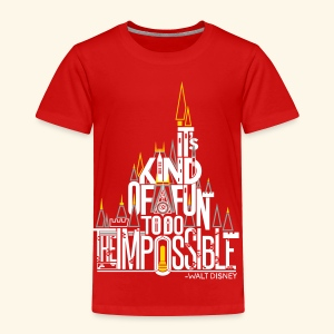 The Impossible - Toddler Premium T-Shirt
