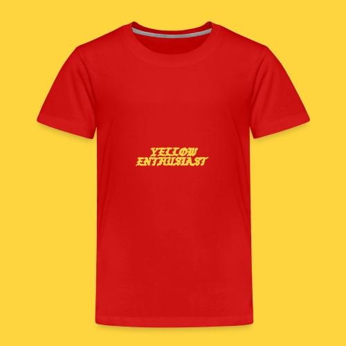 yellow enthusiast - Toddler Premium T-Shirt