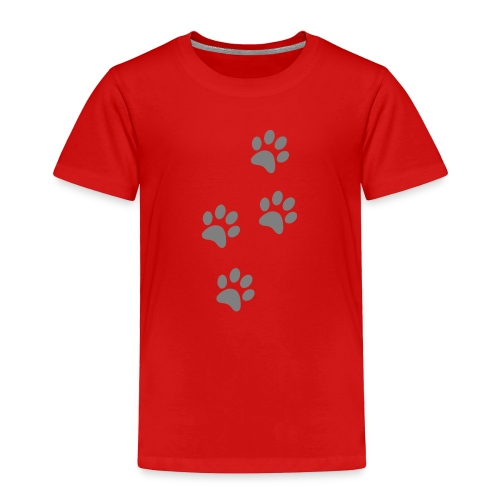 pawprints - Toddler Premium T-Shirt