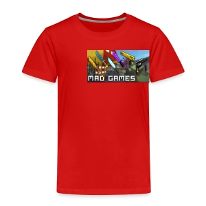 Mad freaking games - Toddler Premium T-Shirt