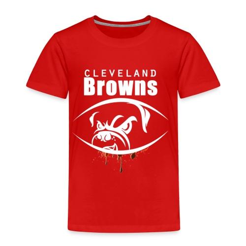 win lose or tie i ll bleed orange brown3 - Toddler Premium T-Shirt