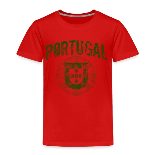 Vintage Portugal - Toddler Premium T-Shirt