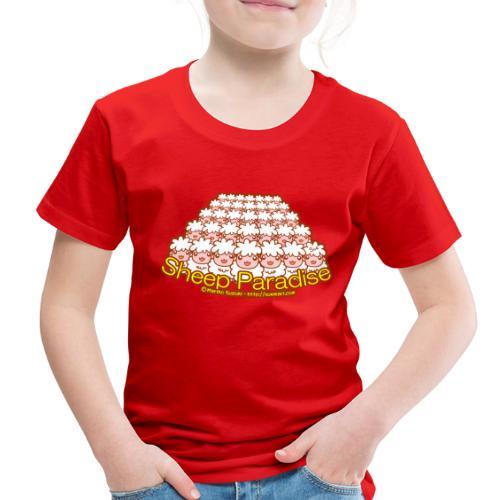 Sheep Paradise - Toddler Premium T-Shirt