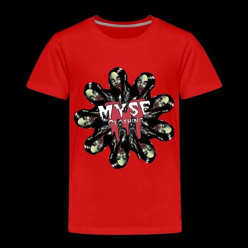MYSE Clothing - zombie mandala - Toddler Premium T-Shirt