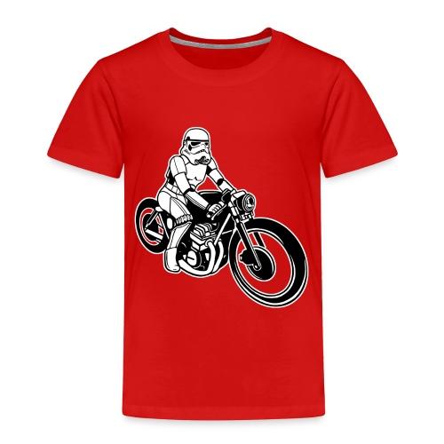 Stormtrooper Motorcycle - Toddler Premium T-Shirt