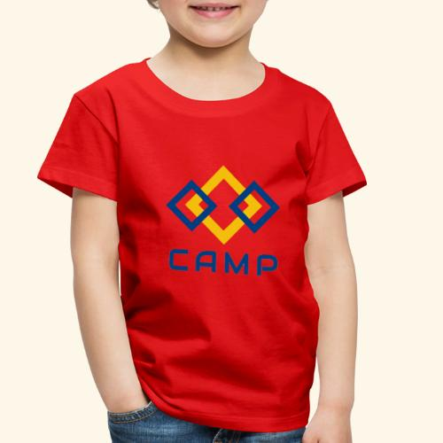 CAMP LOGO and products - Toddler Premium T-Shirt