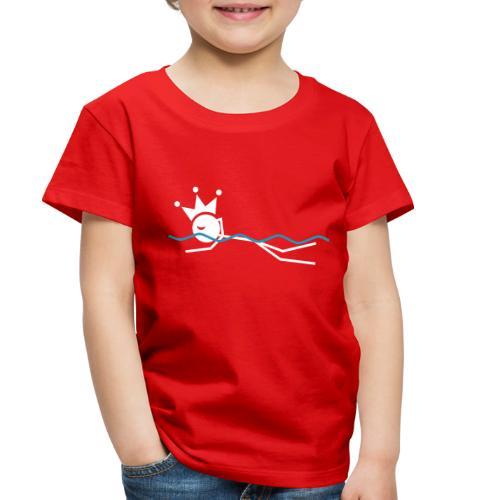 Winky Swimming King - Toddler Premium T-Shirt
