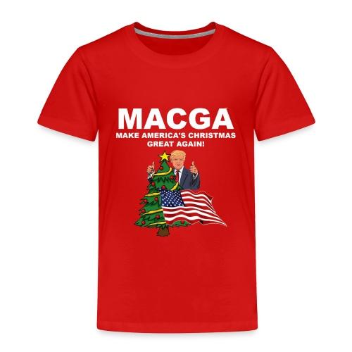 Make America's Christmas Great Again - Toddler Premium T-Shirt
