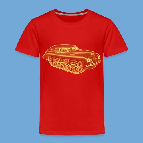 Car Tank - Red & Yellow - Toddler Premium T-Shirt