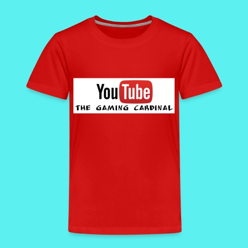 Youtube temp logo - Toddler Premium T-Shirt