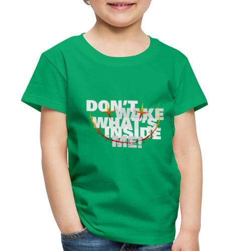 freak inside white - Toddler Premium T-Shirt