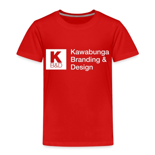 KBD Signature_blanc - Toddler Premium T-Shirt