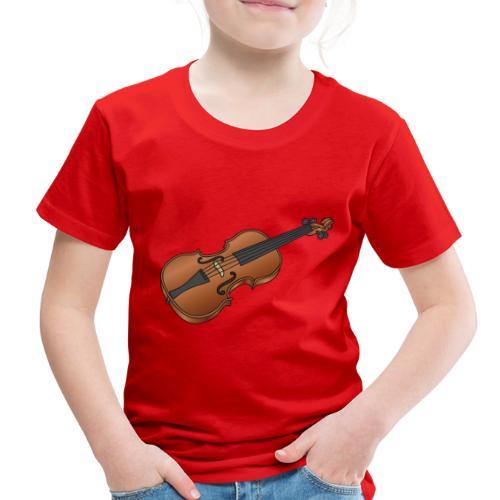 Violin, fiddle - Toddler Premium T-Shirt