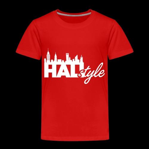 HALIStyle City Skyline - Toddler Premium T-Shirt