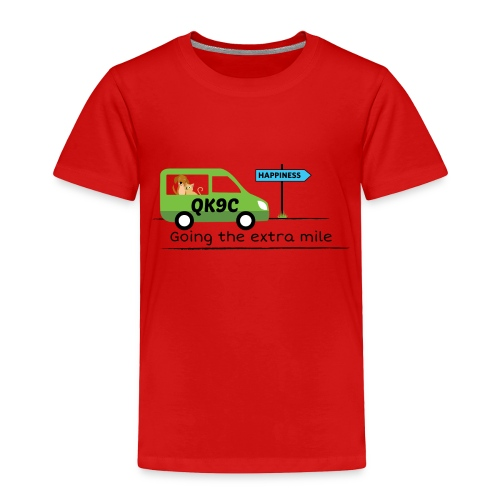 Going the extra mile - Toddler Premium T-Shirt