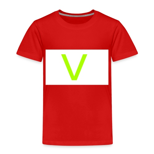 V letter for vast - Toddler Premium T-Shirt