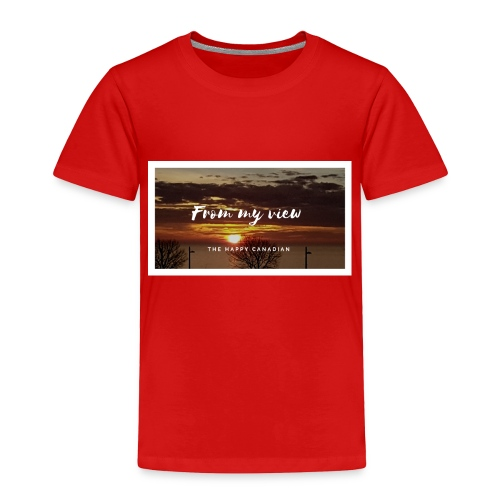 THE HAPPY CANADIAN - Toddler Premium T-Shirt