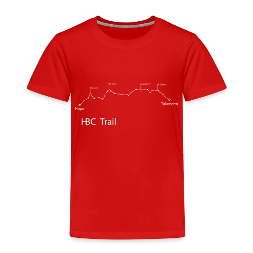 HBC Trail Elevation - Toddler Premium T-Shirt