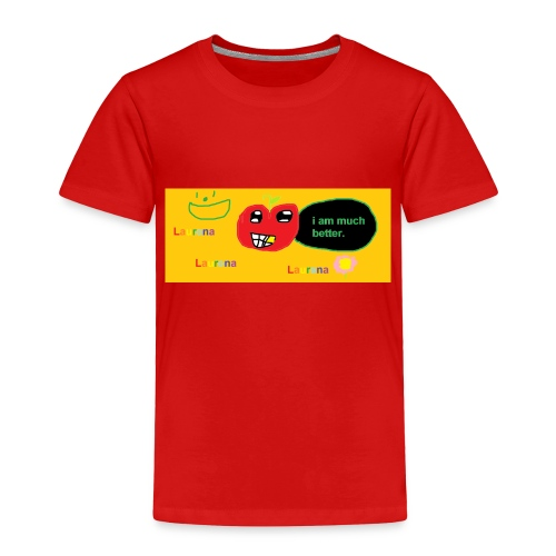 pechy vs apple - Toddler Premium T-Shirt