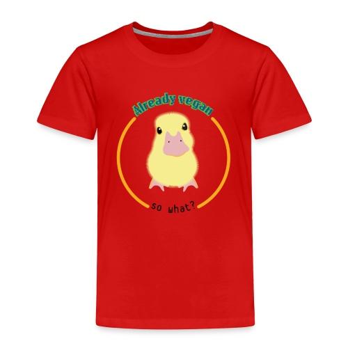 Vegan Duck - Toddler Premium T-Shirt