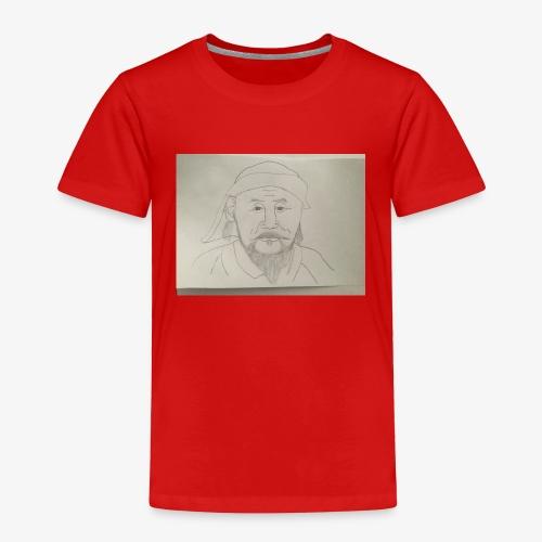 I'm Kublai khan, wait am I flat??? - Toddler Premium T-Shirt