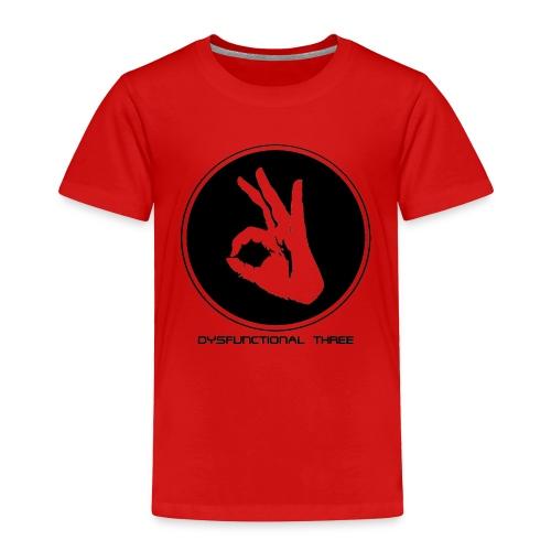 Dysfunctional three LOGO - Toddler Premium T-Shirt