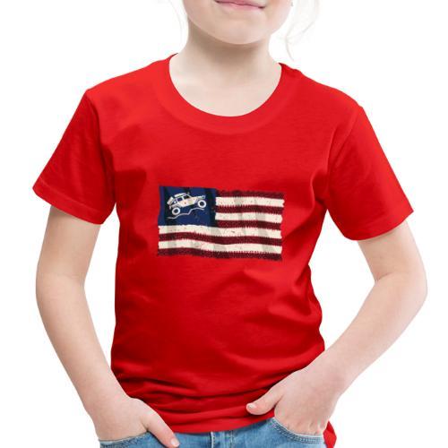 American Off Road 4x4 Overland Flag - Toddler Premium T-Shirt