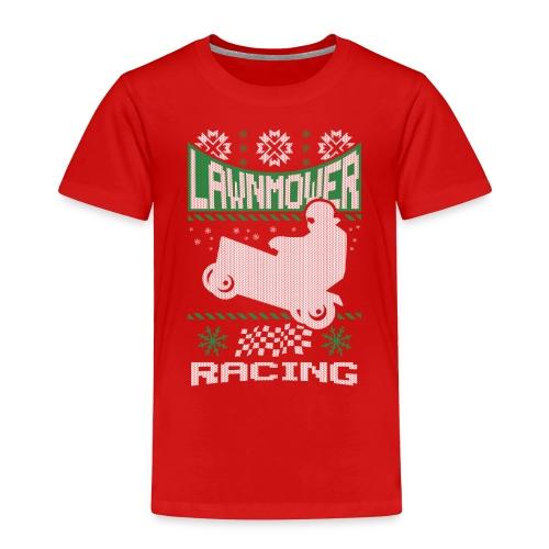 Lawnmower Ugly Christmas - Toddler Premium T-Shirt