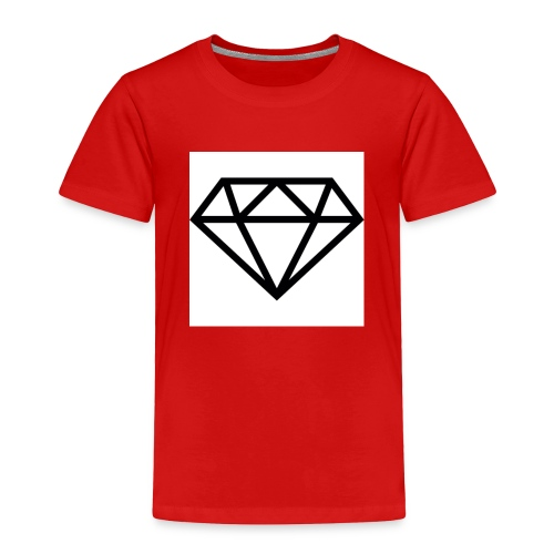 diamond outline 318 36534 - Toddler Premium T-Shirt
