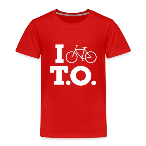 Toddler I Bike T.O. shirt - Toddler Premium T-Shirt