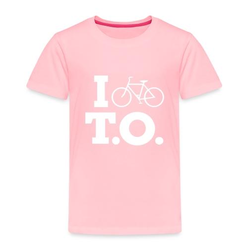 Toddler I Bike T.O. shirt - Toddler Premium T-Shirt