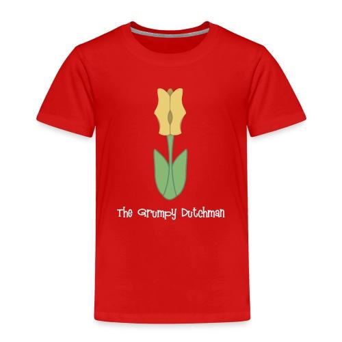 Shoe Tulip white lettering - Toddler Premium T-Shirt
