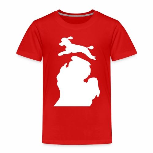 Bark Michigan poodle - Toddler Premium T-Shirt