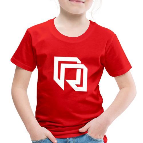 Red Iron Icon (White) - Toddler Premium T-Shirt