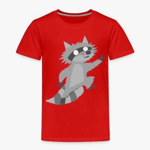 Raccoon - Toddler Premium T-Shirt
