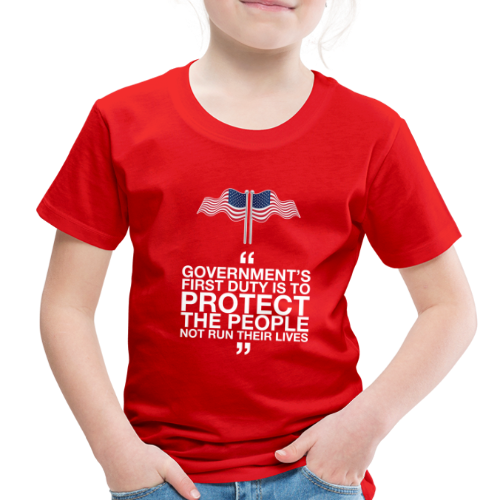 Protect The People - Toddler Premium T-Shirt