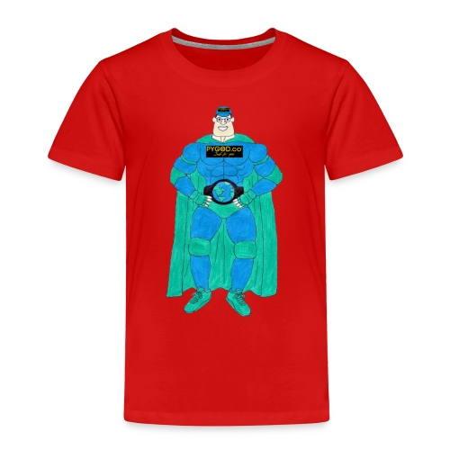 PYGOD Man - PYGOD.co Mascot - Toddler Premium T-Shirt