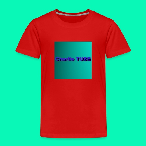 Charlie TUBE - Toddler Premium T-Shirt