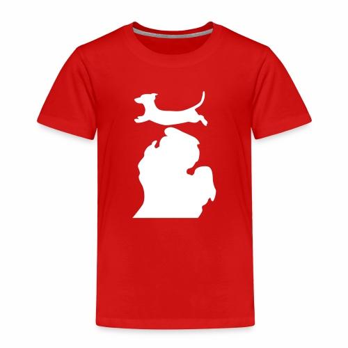 Dachshund Bark Michigan womens shirt - Toddler Premium T-Shirt