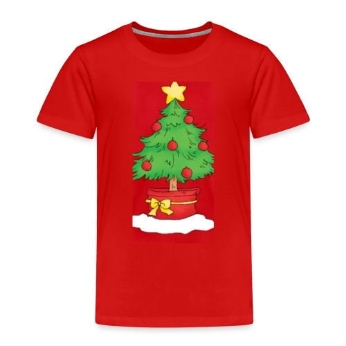 Xmas tree - Toddler Premium T-Shirt