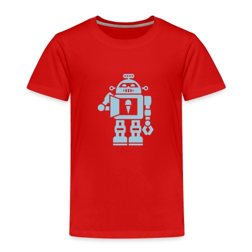 robot 5 - Toddler Premium T-Shirt