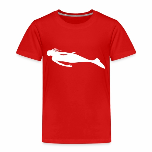 Mermaid — You choose the design's & shirt's colour - Toddler Premium T-Shirt