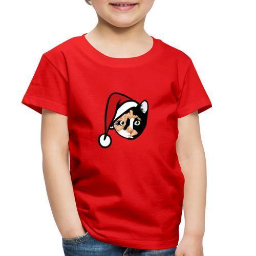 Calico Cat Santa - Toddler Premium T-Shirt