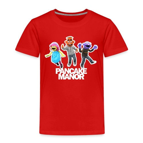 Pancake Mmanor Jump - Toddler Premium T-Shirt