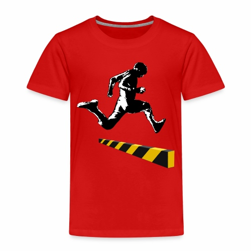 Leaping The Bounds of Caution - Toddler Premium T-Shirt