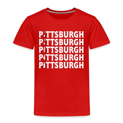Ketch Up in PGH (Red) - Toddler Premium T-Shirt