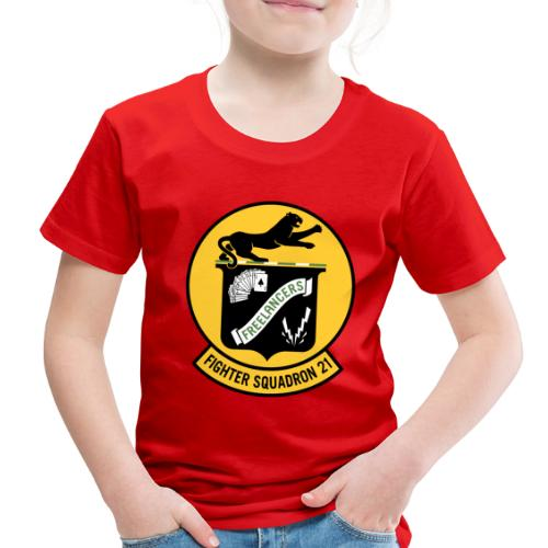 Fighter Squadron Twenty One VF-21 - Toddler Premium T-Shirt