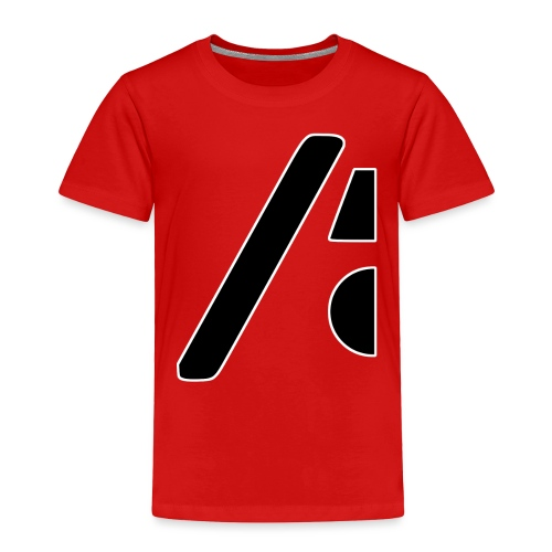Half the logo, full on style - Toddler Premium T-Shirt