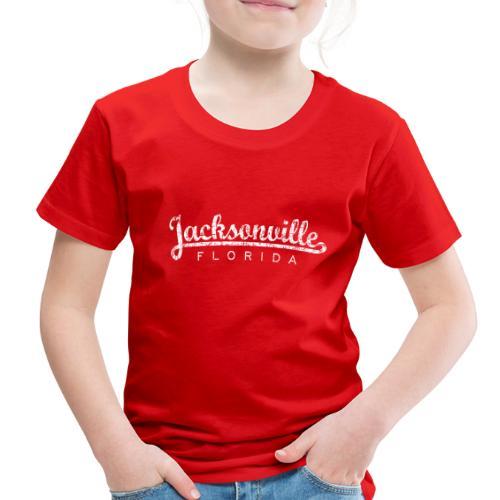 Jacksonville, Florida (Vintage White) - Toddler Premium T-Shirt